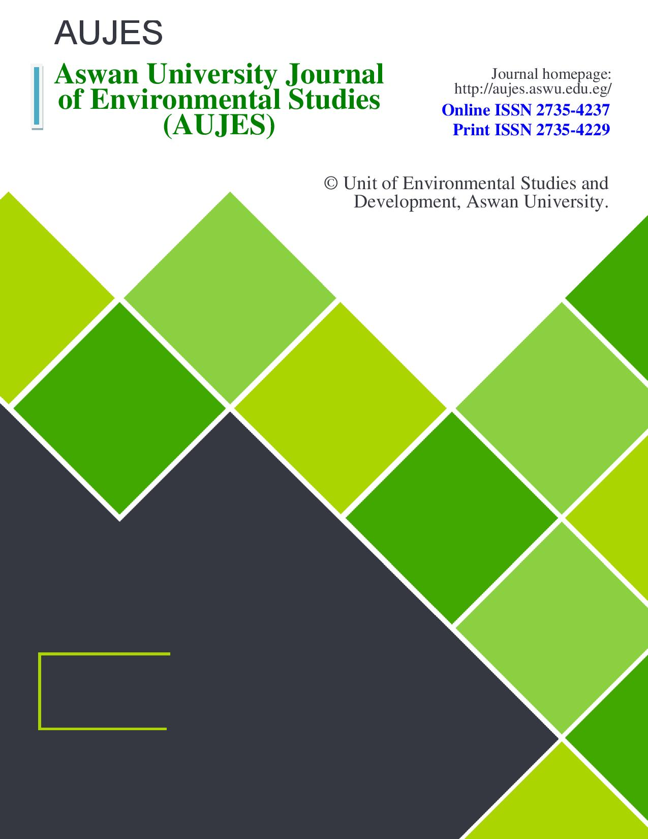 Aswan University Journal of Environmental Studies